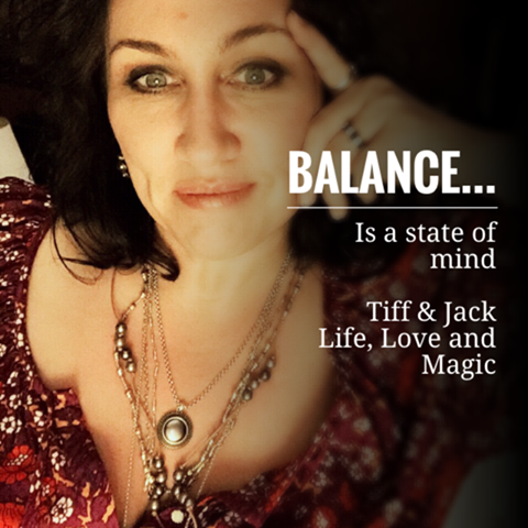 Balance is a state of mind…