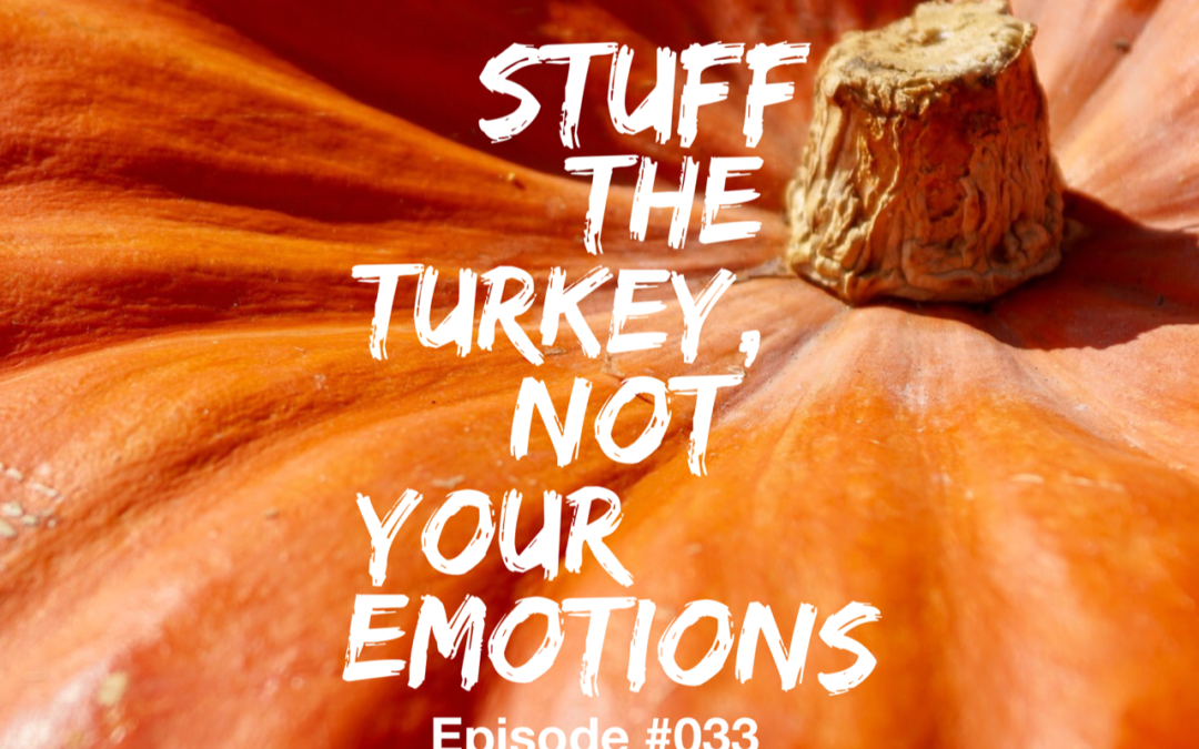 033 – Stuff the Turkey, Not Your Emotions