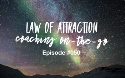 050 – Law of Attraction Coaching On-the-Go